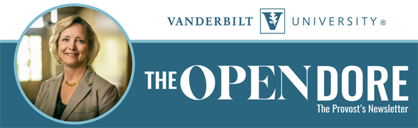 Provost - Open Dore E-Newsletter [Vanderbilt University]