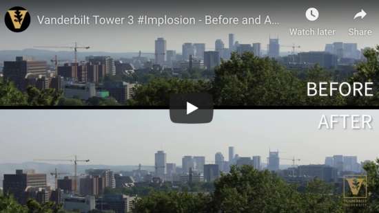 Tower Before and After