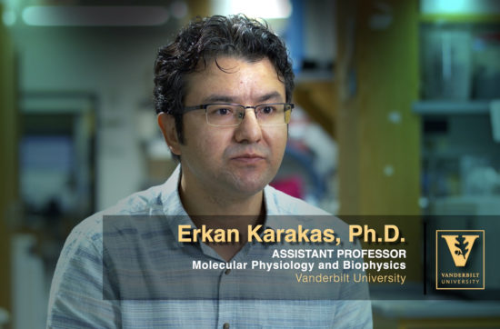Erkan Karakas, Vanderbilt University Assistant Professor of Molecular Physiology & Biophysics, provides an overview of his research in the structural biology of calcium signaling and transport through biological membranes.