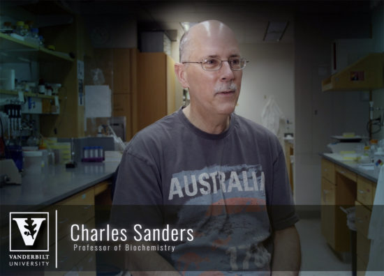 Chuck Sanders Vanderbilt University discusses his Alzheimer's, Charcot-Marie-Tooth Disease, and Long QT Syndrome.