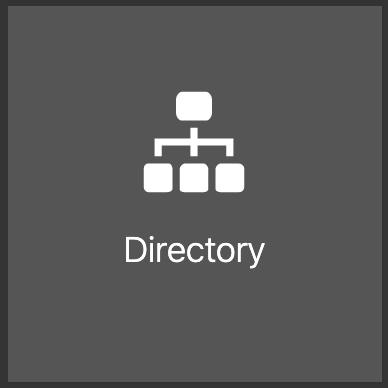 Directory icon from Oracle Cloud