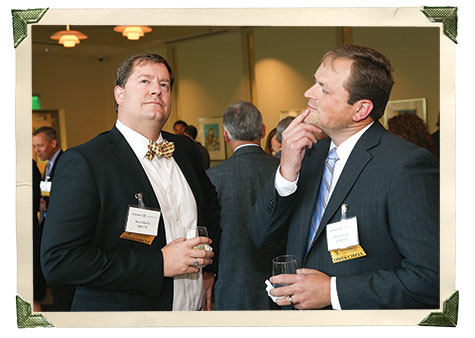 David Bartley, MBA'06, and Marshall Leslie, EMBA'10
