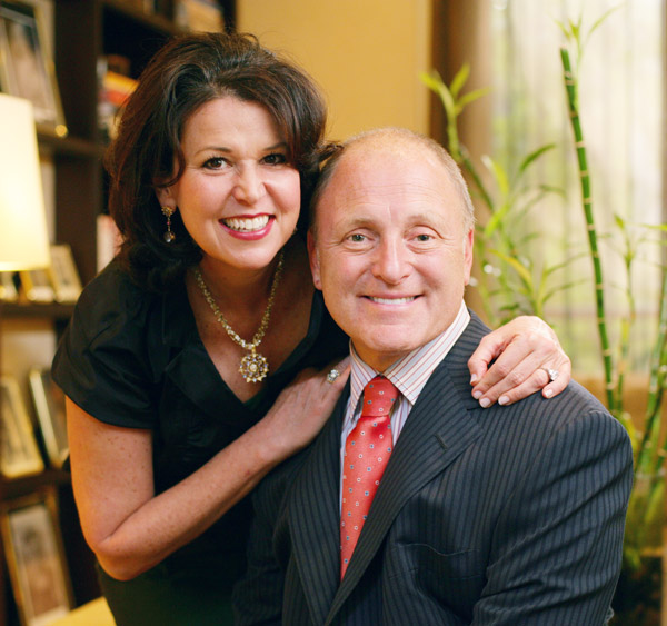 Vicki Simons Heyman and Bruce Heyman