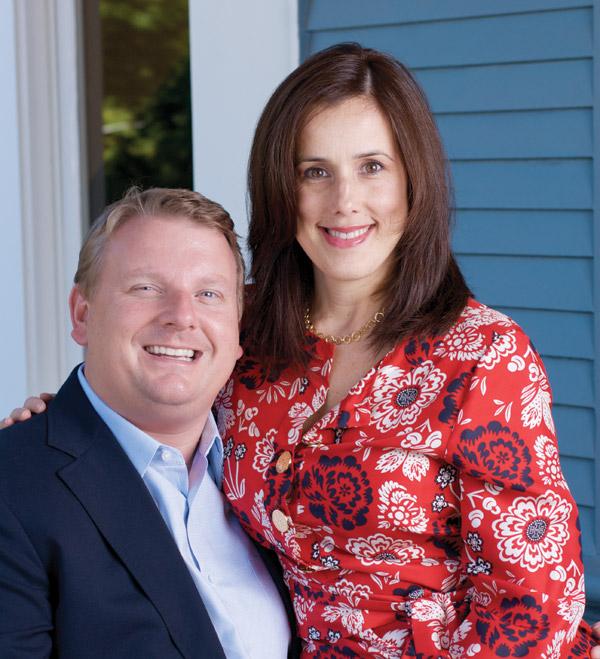 Maria Renz and Tom Barr