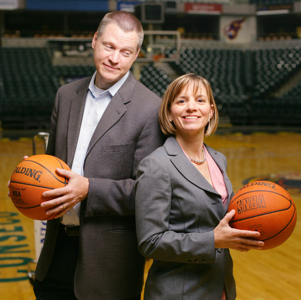 Donna Zavada Wilkinson and Jeff Wilkinson