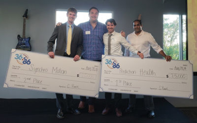 VU teams take top two slots, $45K at 36|86 student pitch competition