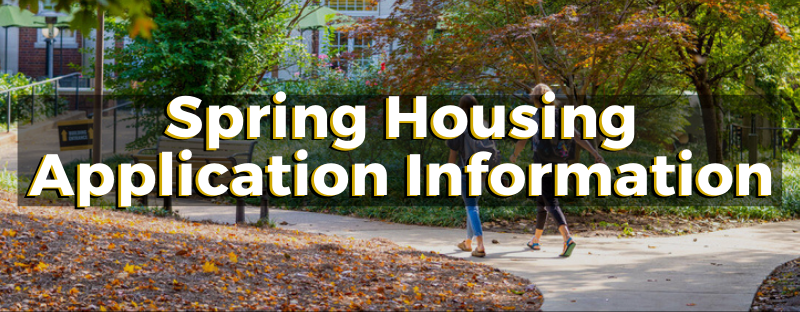 Spring 2021 Housing Application Process