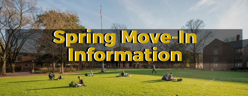 Spring 2021 Move-In Information