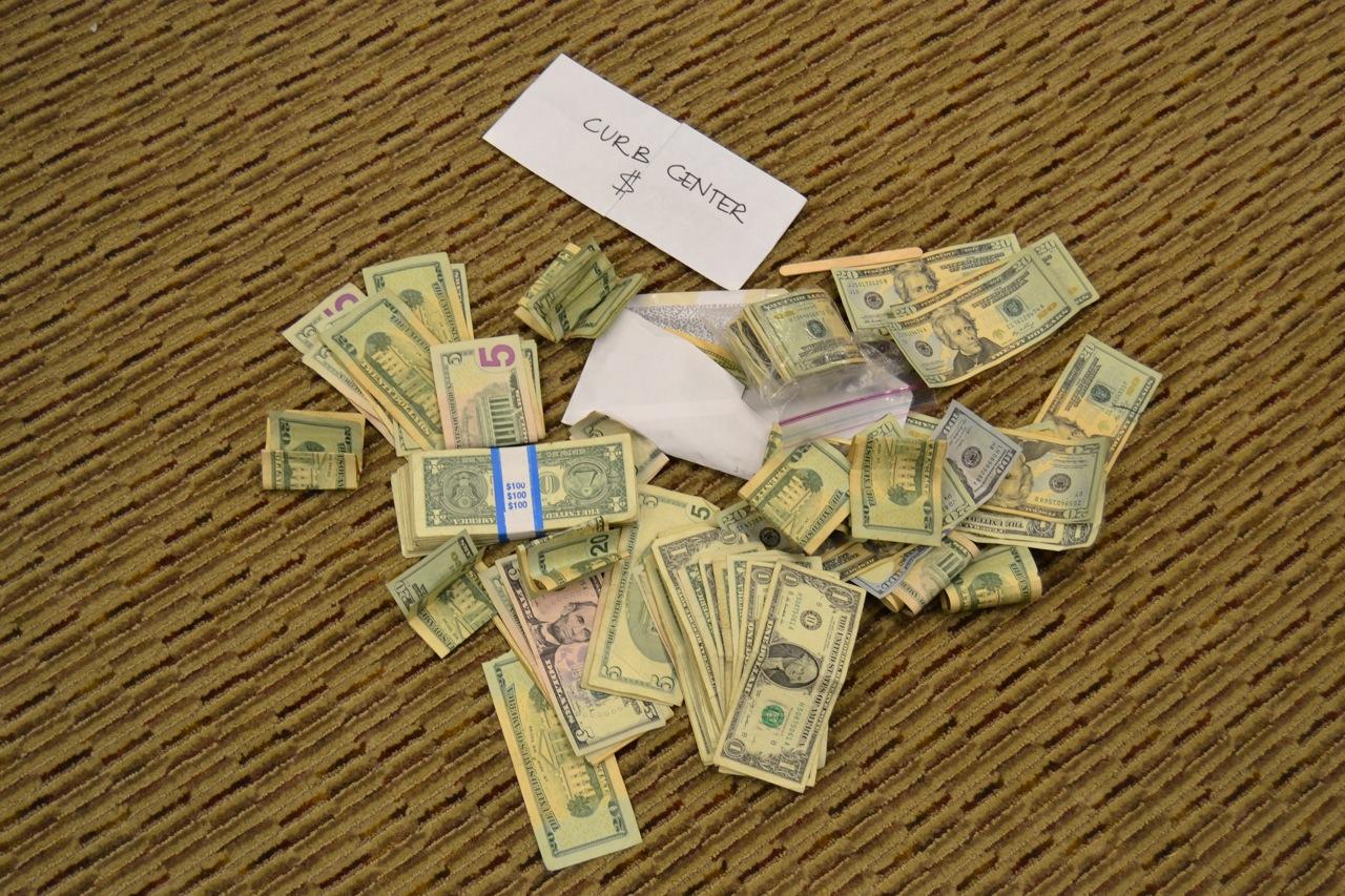 Curb Scholars Show Jon Rubin the Money