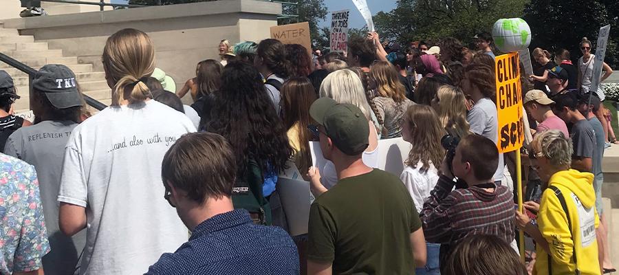 Global Climate Strike in Nashville, TN