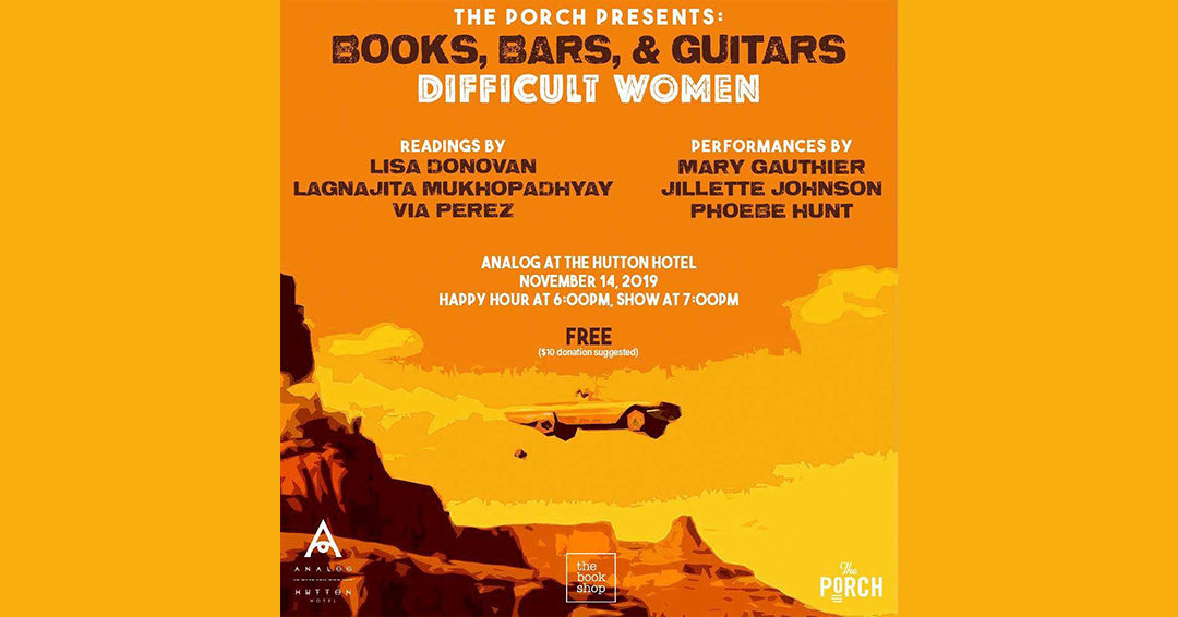 Preview: Books, Bars, and Guitars: Difficult Women