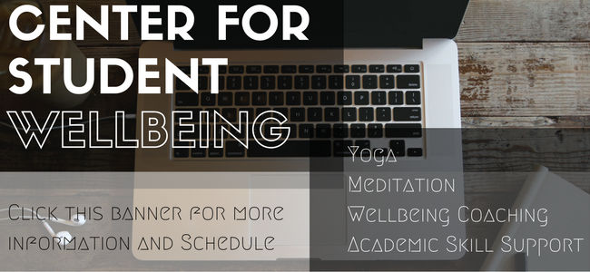 Center for Student Wellbeing