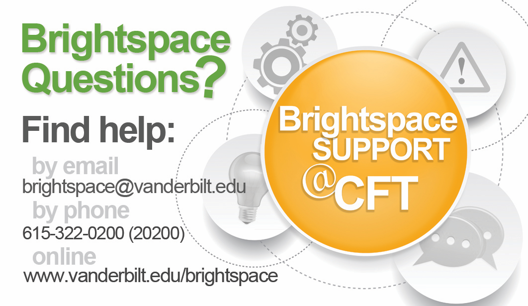 What Students Need To Know About Brightspace Brightspace Vanderbilt University