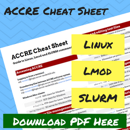 Download the ACCRE Cheat Sheet here