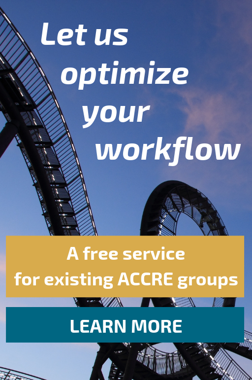 Let us optimize your workflow: A free service for existing ACCRE groups. Learn more.