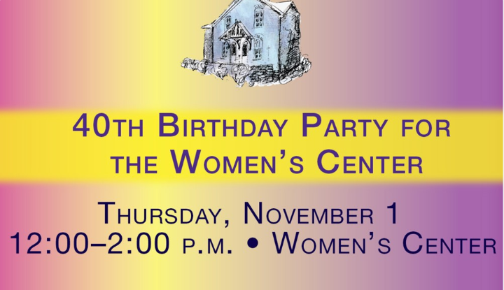 Womens Center 40th Birthday Party