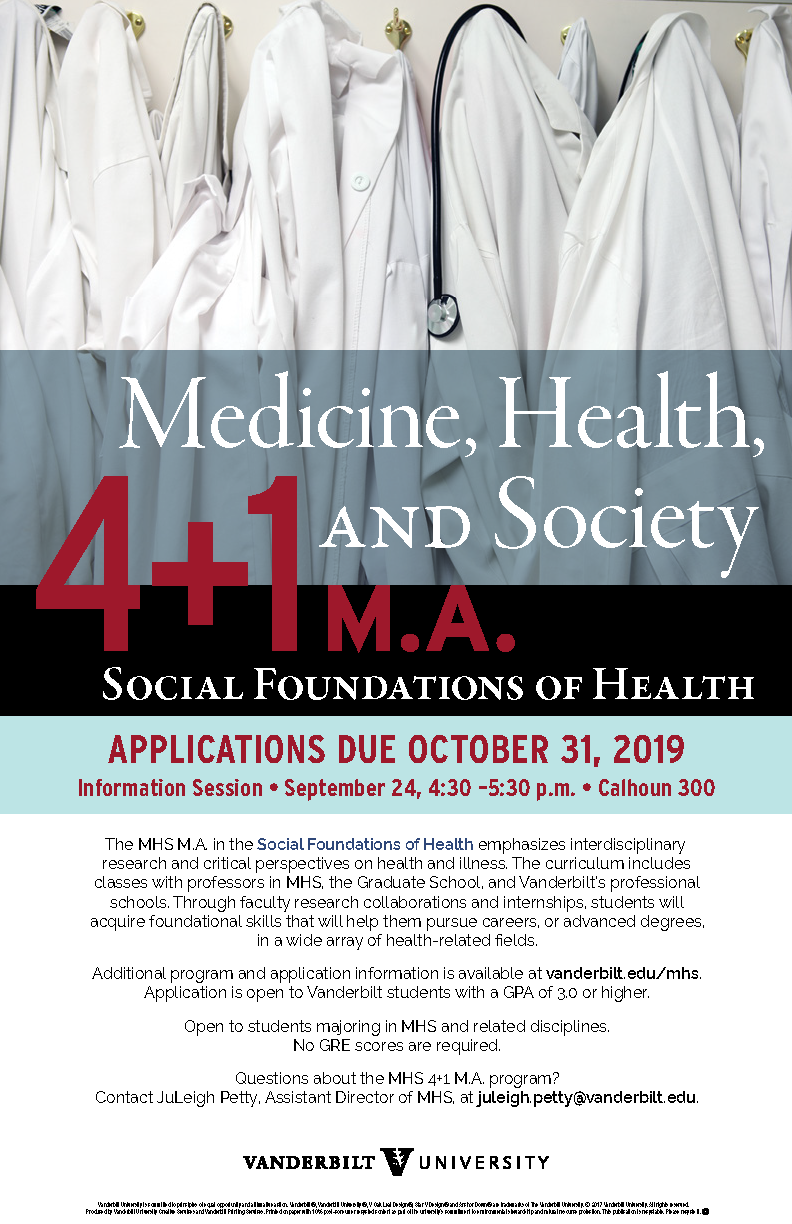 Medicine, Health, and Society