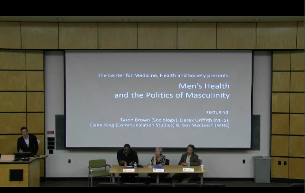 Panel: Men's Health and the Politics of Masculinity