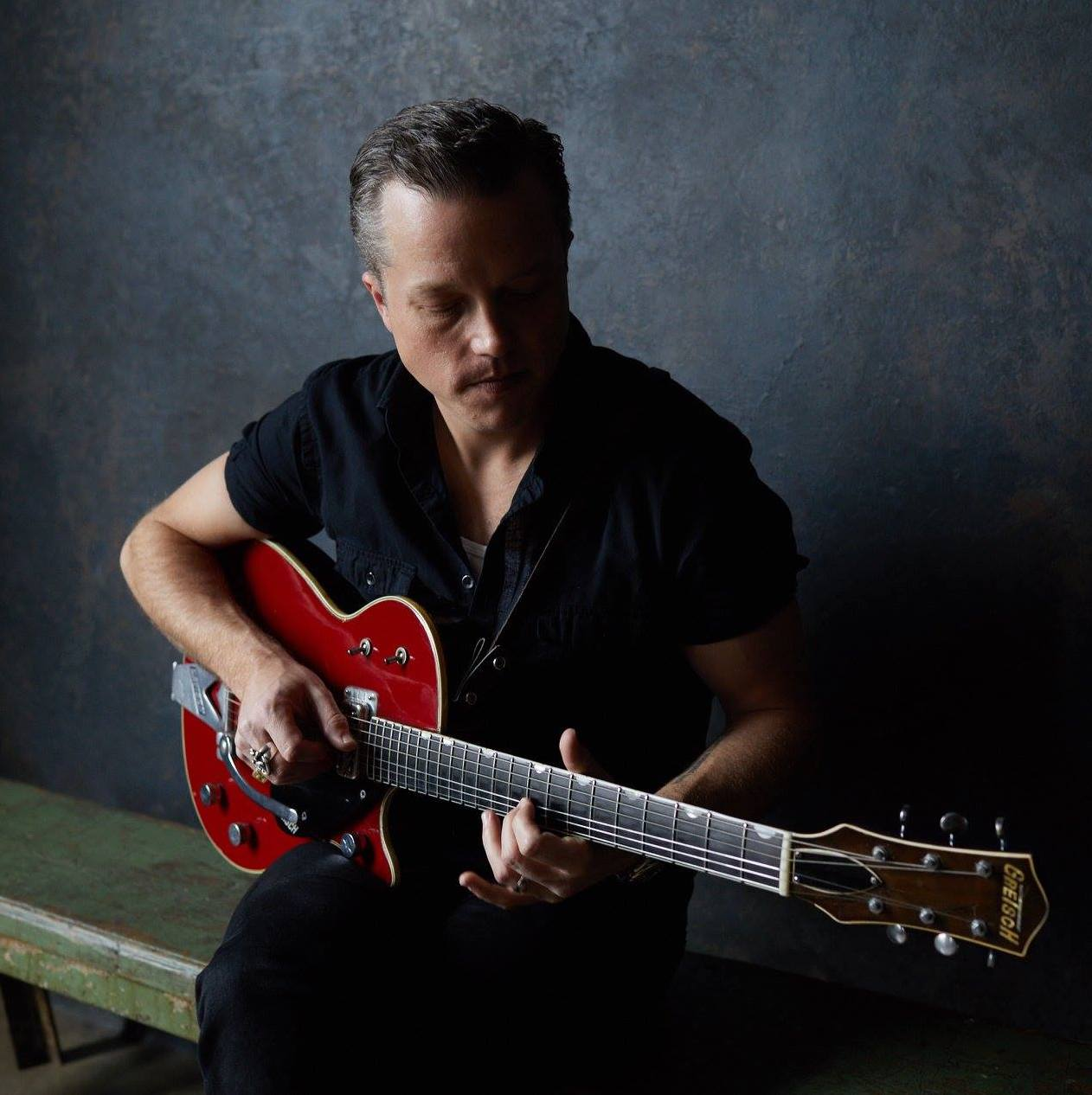 Jason Isbell playing guitar