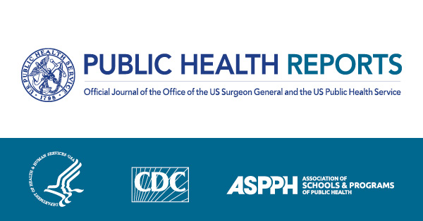 Public Health Reports cover image