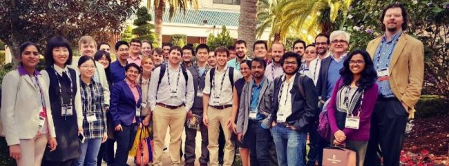 Photo of VISE affiliates at the SPIE conference 2.17