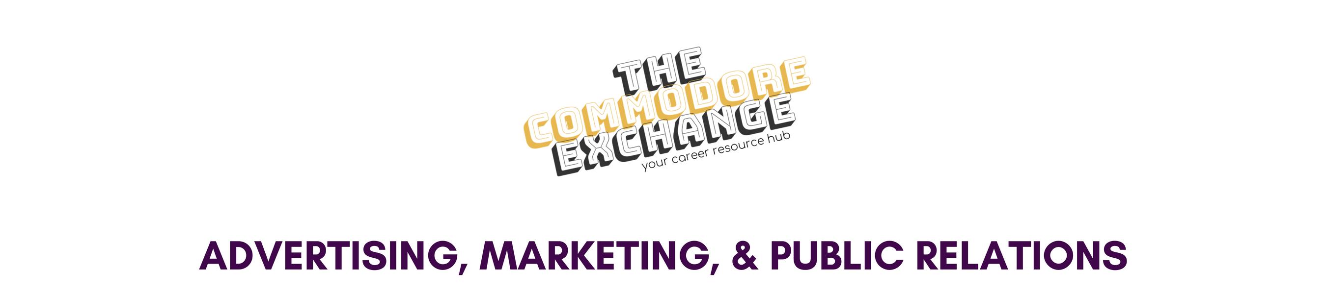 advertising  marketing  public relations