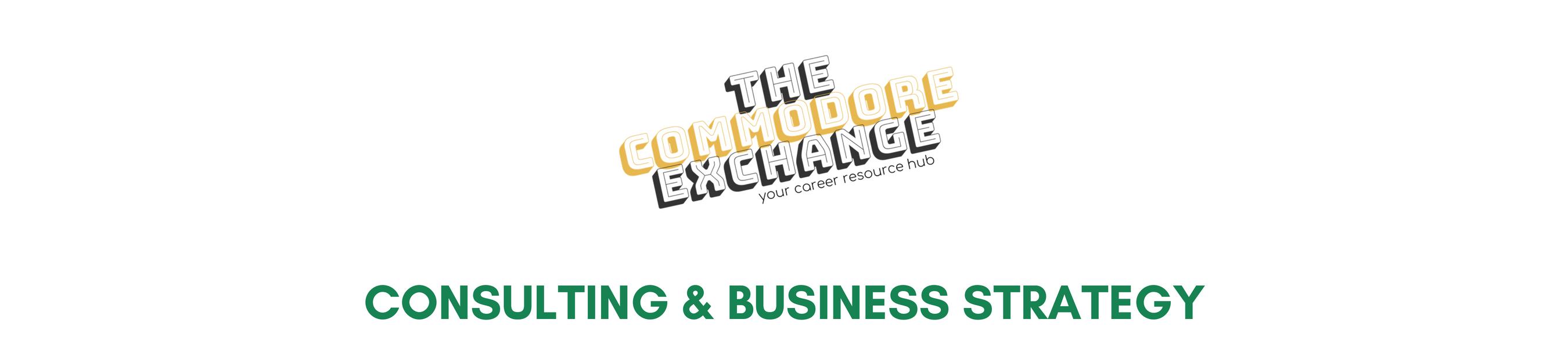 Consulting & Business Strategy | Career Center | Vanderbilt