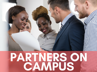 Click this icon to access our page about partners on campus.