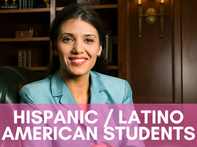 Click the link below this image to access our page for Hispanic/Latino American students.