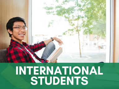 Click this icon to access our page for international student resources.