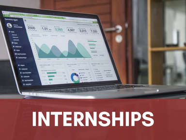 Click this icon to access our page about internships.