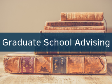 Click here to schedule an appointment for graduate school advising