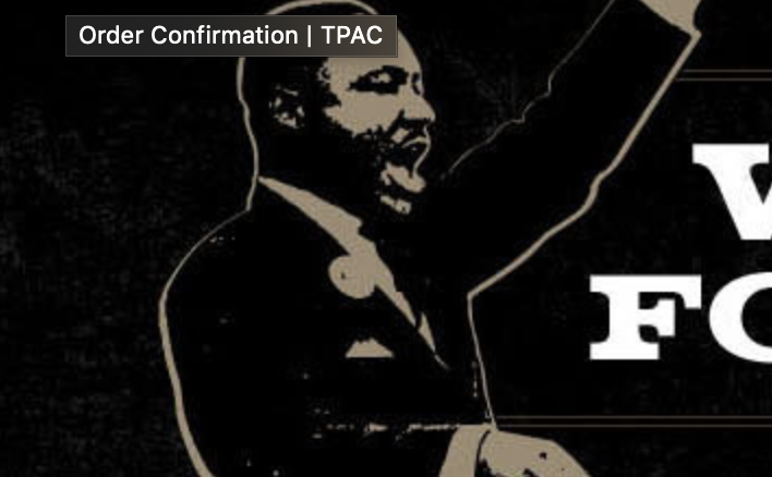 Image of Martin Luther King excerpted from project logo