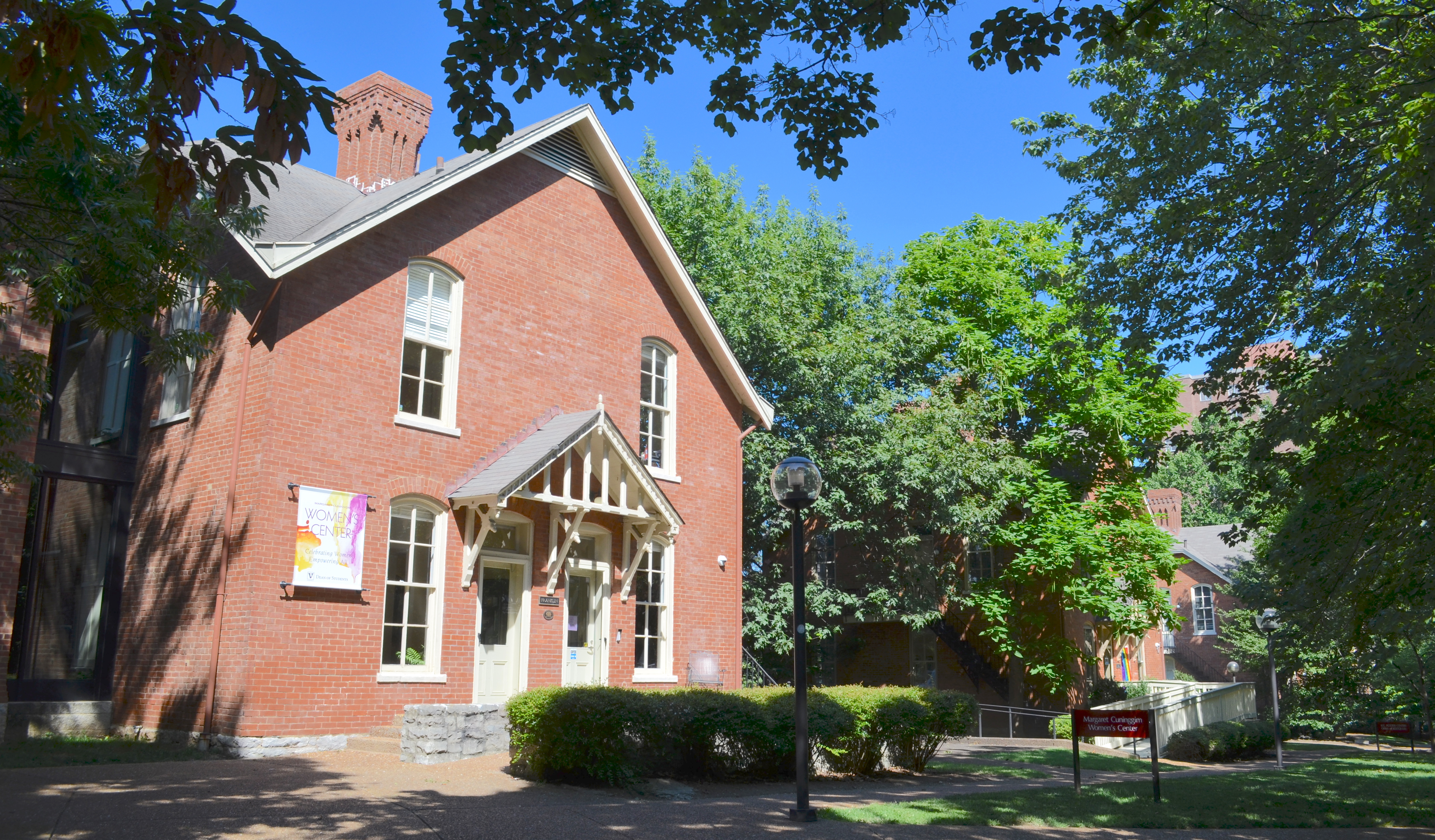 Margaret Cuniggim Women's Center and the KC Potter Center which houses the LGBTQI Life office