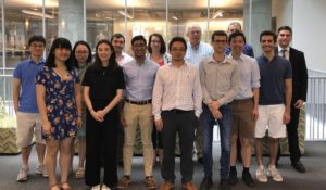 Launch of Summer Research Program Welcomes Eight Undergraduates to the DSI