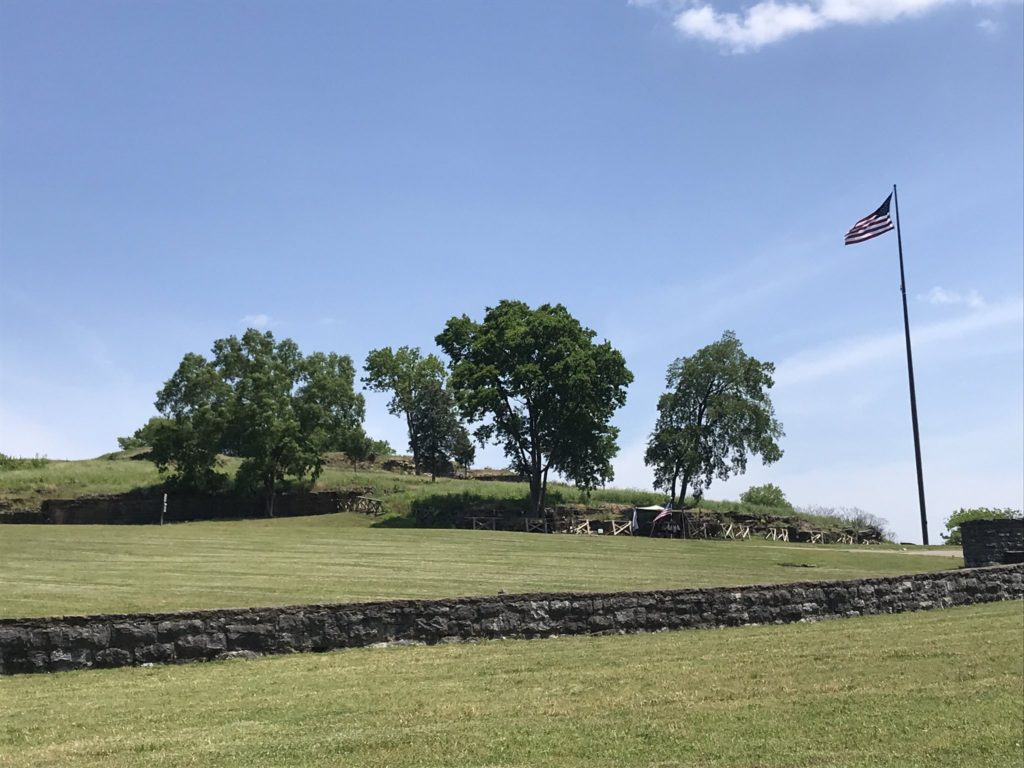 Photo of Fort Negley on May 21, 2019