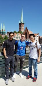 Vanderbilt students in Germany with the CPS-PIRE program