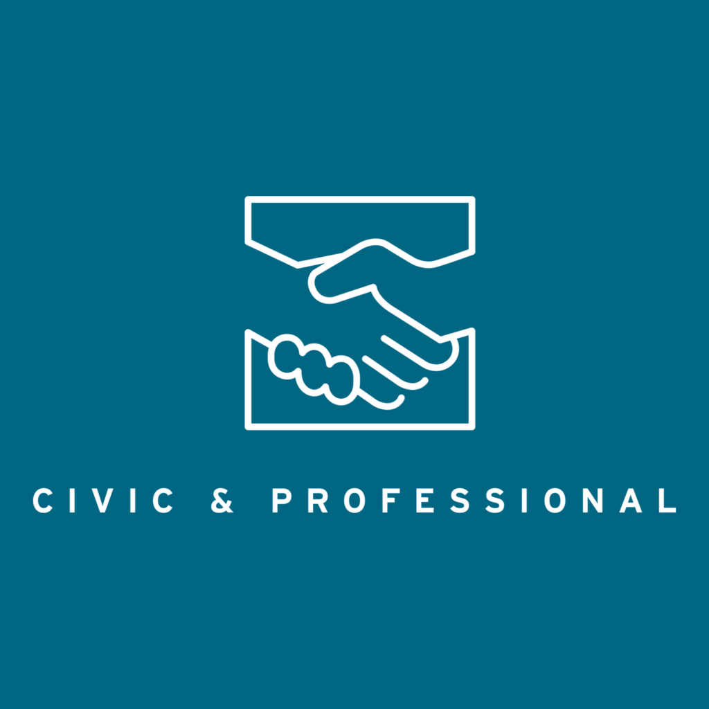 Civic and Professional pathway page