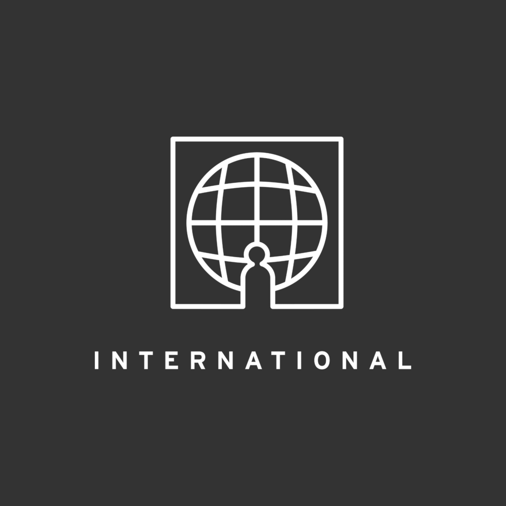 International pathway page