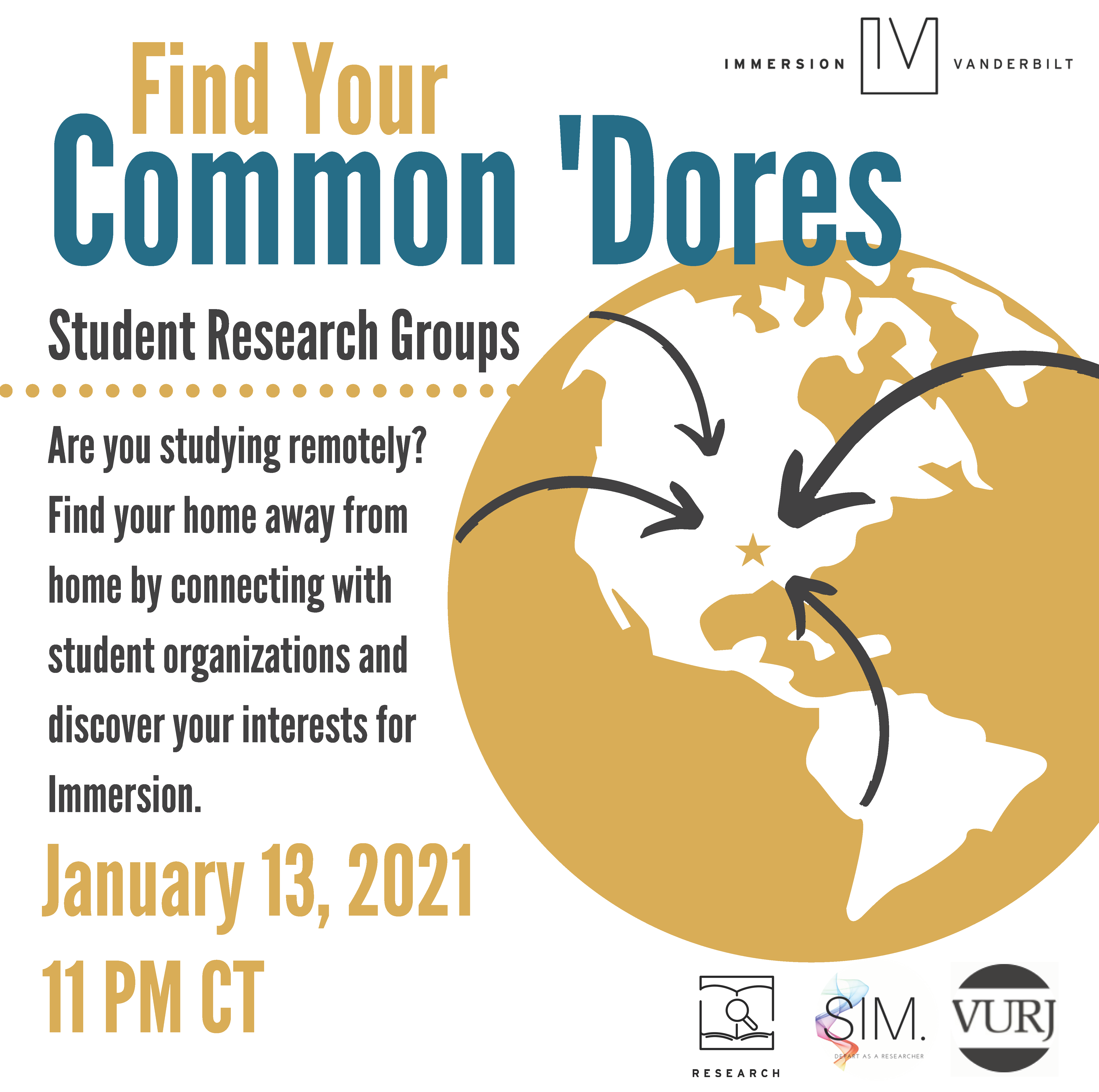 International Student Research Event Flyer 12.3.20