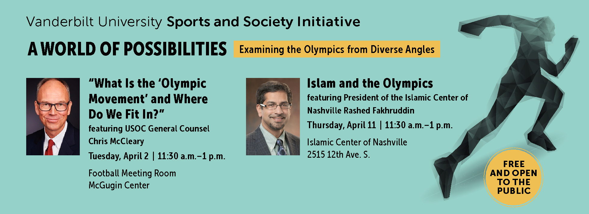 Check out these upcoming Sports and Society Initiative events in April