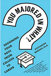 Picture of the book cover for Dr. Kate Brook's book, You Majored in What?