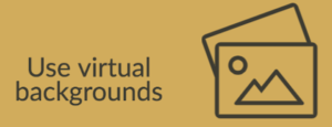 Virtual backgrounds