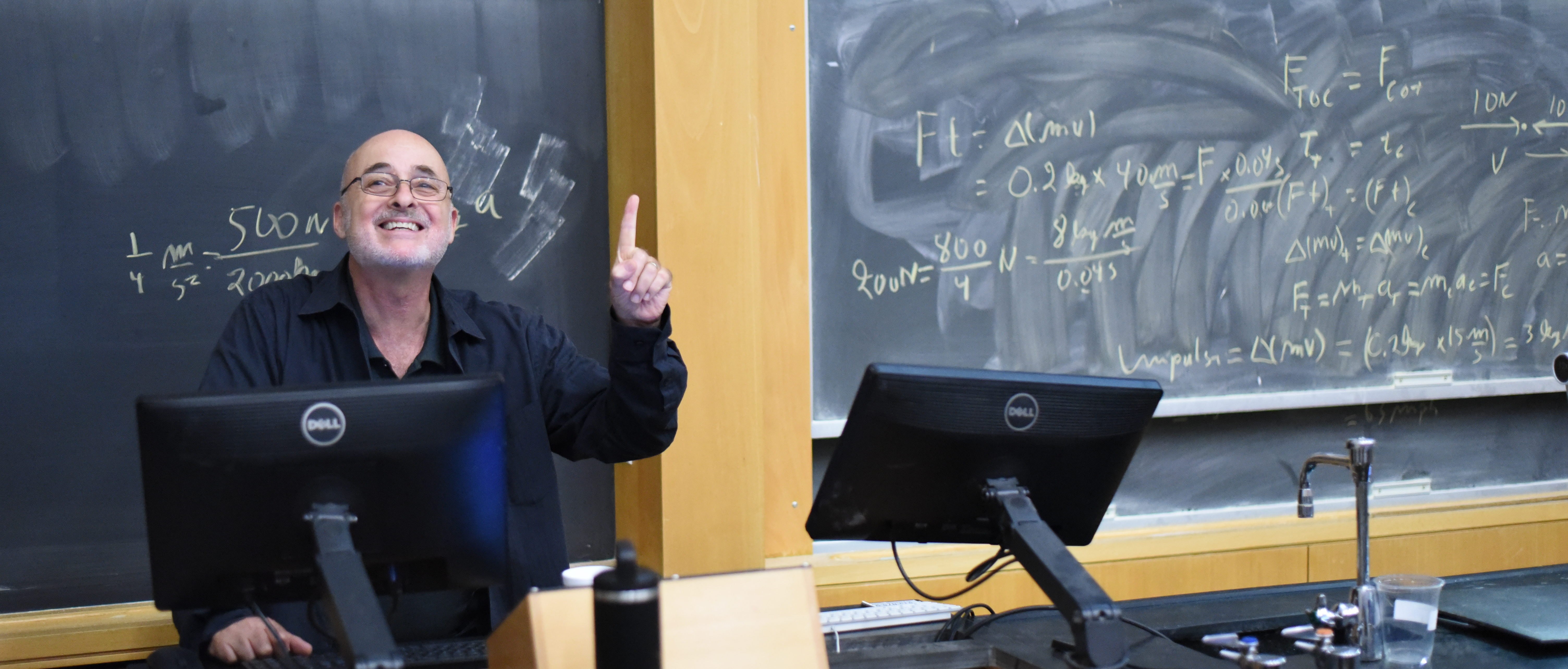 David Brin speaking at physics colloquium
