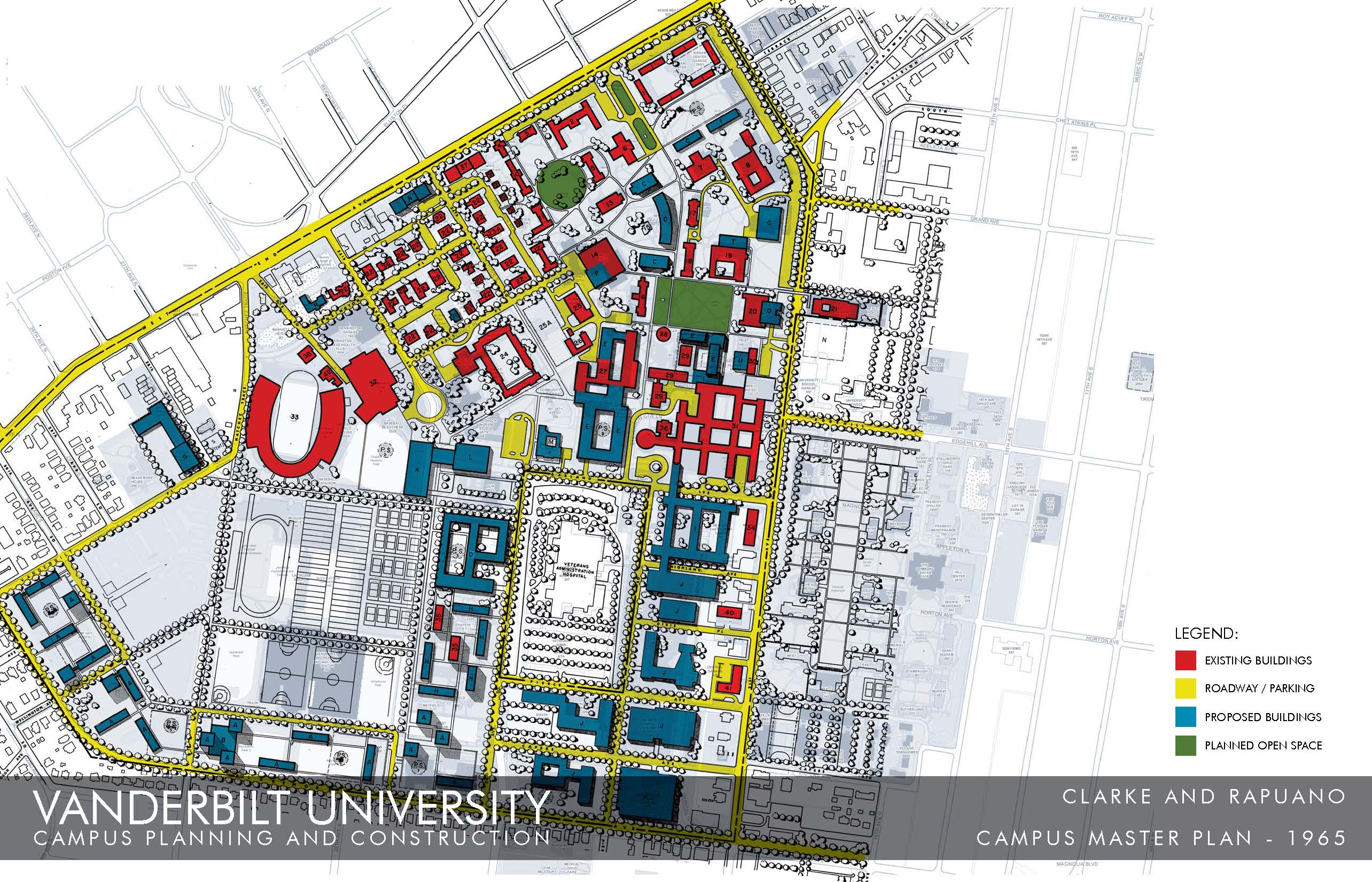 Campus Land Use / Master Planning History at Vanderbilt | FutureVU ...