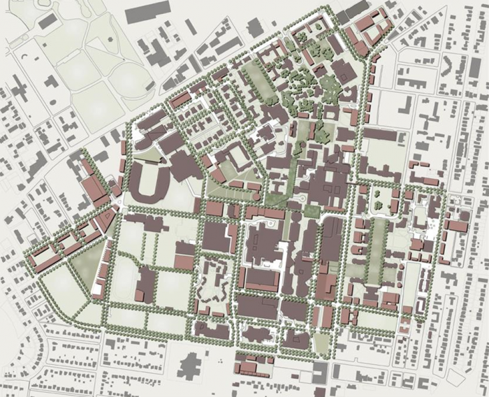 Campus Land Use Plan 2001