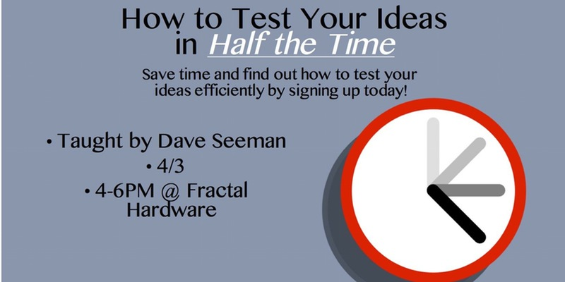 How to test your ideas in half the time