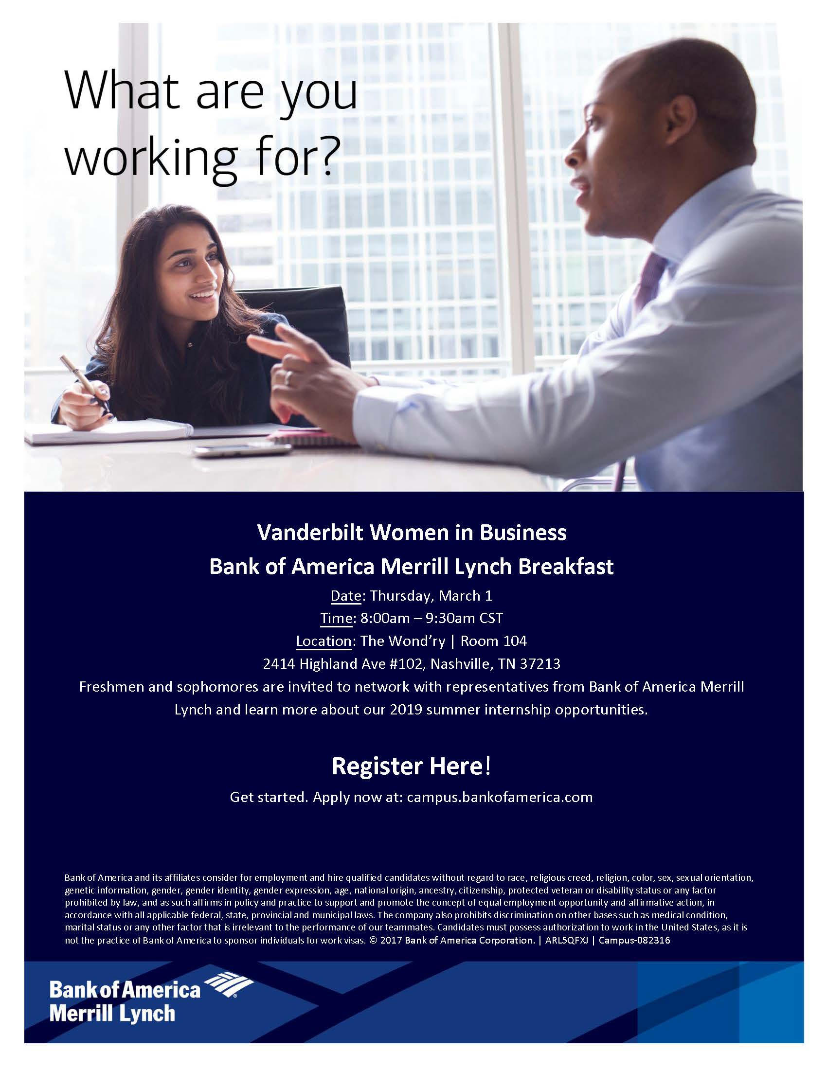 BofAML-Breakfast-3 1-Women-in-Business - the Wond'ry | Vanderbilt