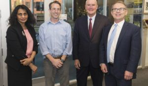 Venture capitalist Bruce Evans shares entrepreneurial fundraising advice at Engineering's Chambers Lecture