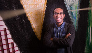 Class of 2018: Joshua Forges creates art that reflects his life